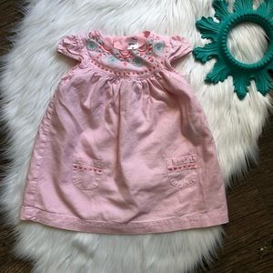 Carters embroidered dress